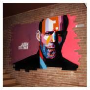 Художественная роспись стен и граффити