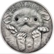"Аукцион! Большая красивая монета Кристаллы ""ежик"""