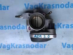 Заслонка дроссельная. Volkswagen Passat, 3B2, 3B3, 3B5, 3B6 Skoda Superb Audi A4, B5 Двигатели: ACK, ADP, AFB, AGE, AGZ, AJM, AKN, ALG, ALT, ALZ, AMX...