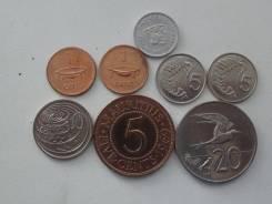 Колонии Великобритании подборка из 8 монет. Без повторов! Торги с 1 р!