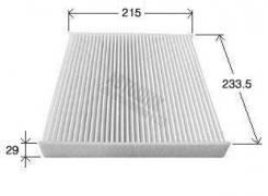 Фильтр салонный AC-106Е VIC
