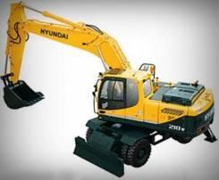 Hyundai R210W-9. Экскаватор Hyundai Robex 210W, грз РС 0981, 2012г. в., 1,05куб. м.
