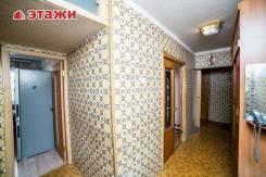3-комнатная, улица Невельского 2. Луговая, проверенное агентство, 66кв.м.