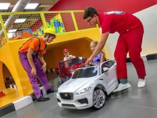 Детский День Рождения на стройке и на электромобилях. Седанка-Сити