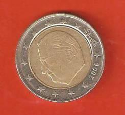 2 евро 2006 г. Бельгия.