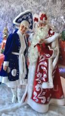 Дед Мороз выезд на дом! Выезд со Снегурочгой и Бусинкой (мини-пиг)