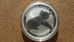 1 доллар 2012 г. Австралия, Коала, серебро