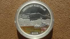 Австралия 1 доллар 2008 Хобарт, серебро