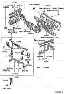 Рамка радиатора. Toyota Caldina, ZZT241W, AZT246W, AZT241W, ST246W Двигатели: 1ZZFE, 1AZFSE, 3SGTE. Под заказ