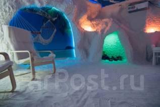 Соляная пещера «Дыхание Моря» в районе Нейбута. (Галотерапия)
