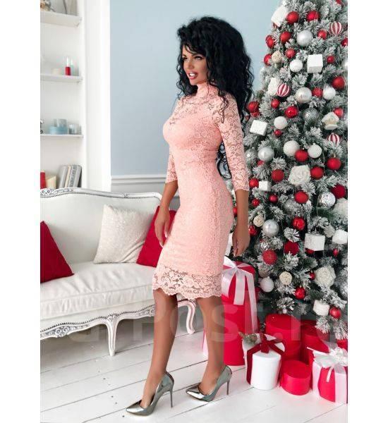 3f4cbbe1d46 Платье гипюровое нежный цвет - Основная одежда во Владивостоке