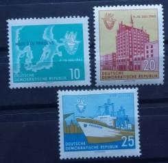 1962 ГДР. Балтийская неделя. 3 м Чистые