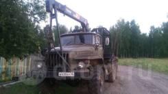 Урал 4320. Лесовоз с кран-балкой