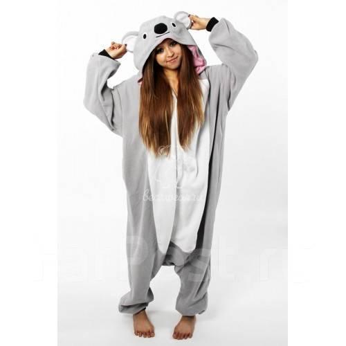 Пижама кигуруми Коала! рост 155-168 - Одежда для дома и сна во ... 5381d580377a4