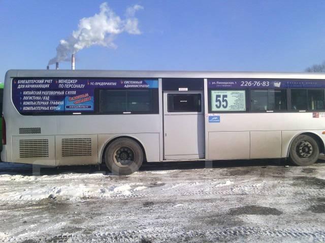 Реклама внутри салона автобуса за 2000! Акция печать-макет Бесплатно!