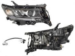 Фара правая Toyota LAND Cruiser Prado 150 17- RH LED