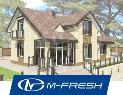 M-fresh Resonance Plus! (Вот это проект! Супер. С мансардой! ). 200-300 кв. м., 1 этаж, 5 комнат, бетон