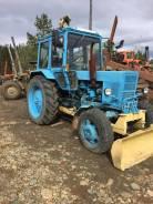 МТЗ 82. Трактор с ямобуром. 1990год, 80 л.с.