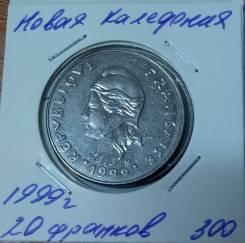 Новая Каледония 20 франков 1999 года