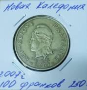 Новая Каледония 100 франков 2007 года