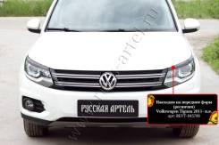 Защита фар прозрачная. Volkswagen Tiguan