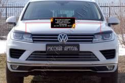 Защита фар прозрачная. Volkswagen Touareg, 7P5 CASD, CGEA, CGFA, CGNA, CJGD, CJMA, CKDA, CMTA, CRCA