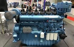 Главный судовой двигатель серии WHM6160. Под заказ