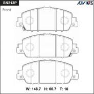 Колодки тормозные. Honda HR-V Honda Vezel, RU1, RU2, RU3, RU4 Honda Stepwgn, RP1, RP2, RP3, RP4, RP5 Toyota Comfort
