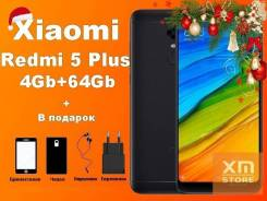 Xiaomi Redmi 5 Plus. Новый, 64 Гб