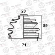 Пыльник привода BD0601 (53-413 Maruichi/FB-2157) Avantech