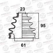 Пыльник привода BD0122 (28-414 Maruichi/FB-2084) Avantech