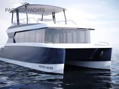 Pacifico Cruise 120. 2019 год год, длина 11,90м., двигатель стационарный, 116,00л.с., дизель. Под заказ