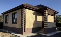 Новый , Готовый дом с Газом ! 90м2. 9-я тихая, р-н 9-я тихая, площадь дома 90,0кв.м., скважина, электричество 6 кВт, отопление газ, от частного лица...