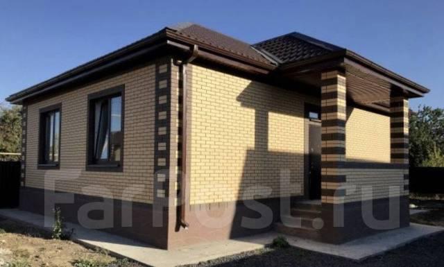 Новый , Готовый дом с Газом ! 90м2. 9-я тихая, р-н 9-я тихая, площадь дома 90,0кв.м., площадь участка 300кв.м., скважина, электричество 6 кВт, ото...