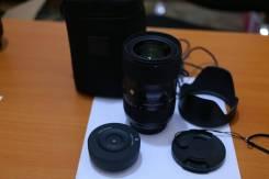 Лучший на кроп Nikon Sigma 18-35mm f1.8 +dock. Для Nikon, диаметр фильтра 72 мм