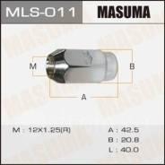 Гайка колеса MLS011 MASUMA 12x1.25 под ключ=21мм (3955)