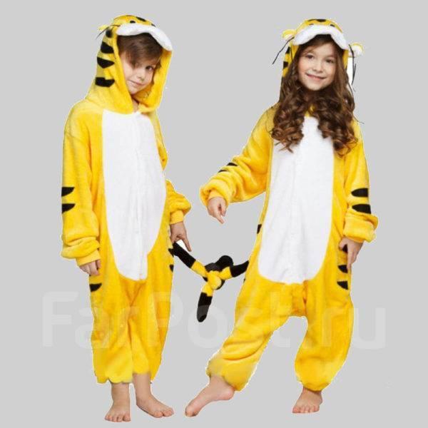 Костюм кигуруми пижама Тигренка - Детская одежда во Владивостоке 446812b72ec63