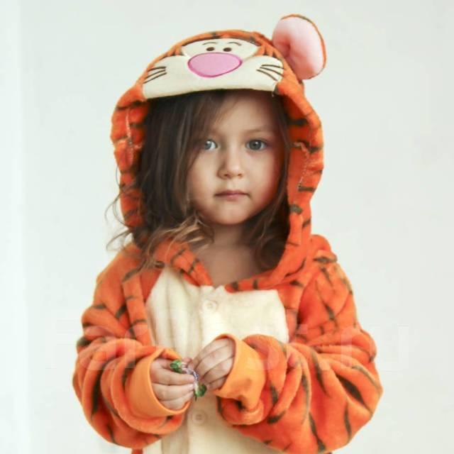Костюм пижама кигуруми Тигра - Детская одежда во Владивостоке 877d3ef7cc4cc