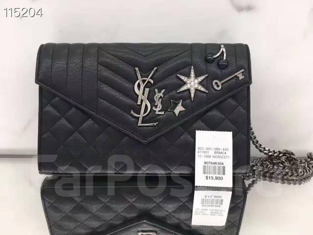 f2f5980e83ca Женская сумка YSL премиум класса, натуральная кожа - Аксессуары и ...