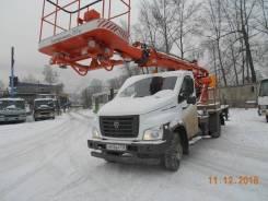 ГАЗ ГАЗон Next. Автовышка телескопическая ВС-18 газон Next, 18,00м.