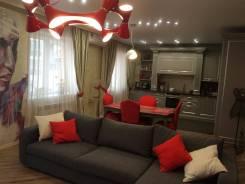 3-комнатная, улица Истомина 14. Центральный, частное лицо, 110кв.м.