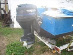 Yamaha. 50,00л.с., 4-тактный, бензиновый, нога L (508 мм), 1998 год год