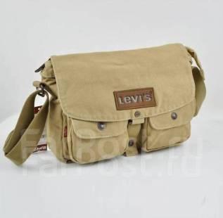 211209c47275 Мужская текстильная сумка Levi's через плечо, большая - Аксессуары и ...