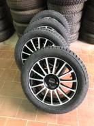Прома RS 4x100 r16 + nokian 7 205/55 r16 #1070 чёрные полироль