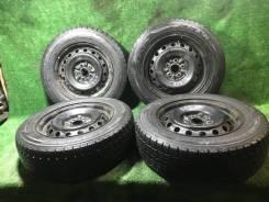"Комплект жирной зимы на штамповках 5Х100 Dunlop DSX-2 195/65/r15. x15"""