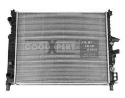 Радиатор охлаждения двигателя. Mercedes-Benz M-Class, W163 OM612DE27LA