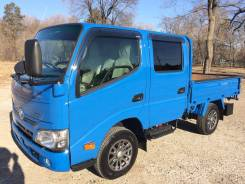 Toyota Dyna. Продам грузовик двухкабиник , 3 000куб. см., 1 500кг., 4x4