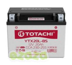 Акб totachi moto ytx20l-bs 20 ач l TOTACHI 4589904523366