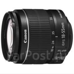 Объектив Canon Kit 18-55 IS STM. Для Canon
