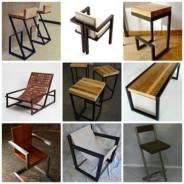 """Изготовление мебели из массива в стиле """"Лофт"""""""